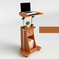 Standing computer desk mobile vertical desk conference podium lifting bedside table commercial furniture office furniture