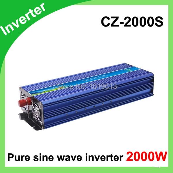 Factory Selling Pure Sine Wave Inverter 12V/24V Power Inverter 2000W 120V 230V Pure Sine Wave Power Inverter