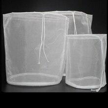 100/160/200/250/300 сетки Еда Класс нейлоновый фильтр-мешок для пива Домашнего Пива красное вино рисовое вино сок соевое молоко Чай