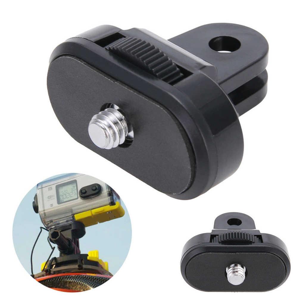 Простая Работа для GOPRO к прочным широко применимым ABS Action конвертер для камеры до 1/4 ''резьбовой Штатив Адаптер