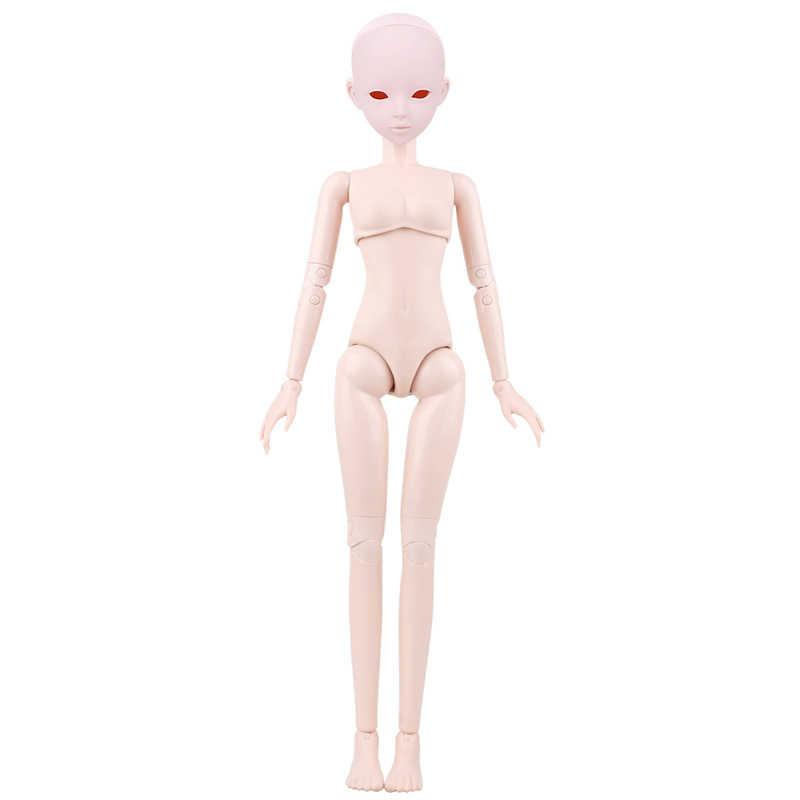 1/3 BJD bebek 56cm kadın plastik ortak hareketli bebek, 20190102