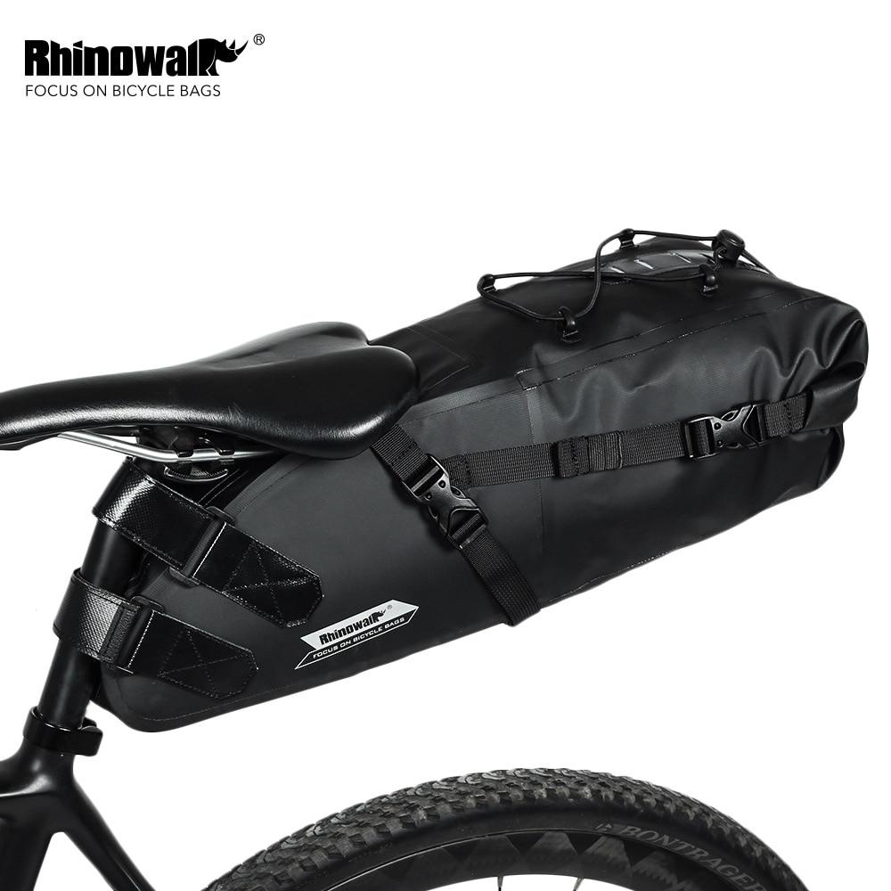 Saddle//Seat Bag Bicycle Pannier Basket Bag Bike Rack Pack Bag Mountain Bicycle