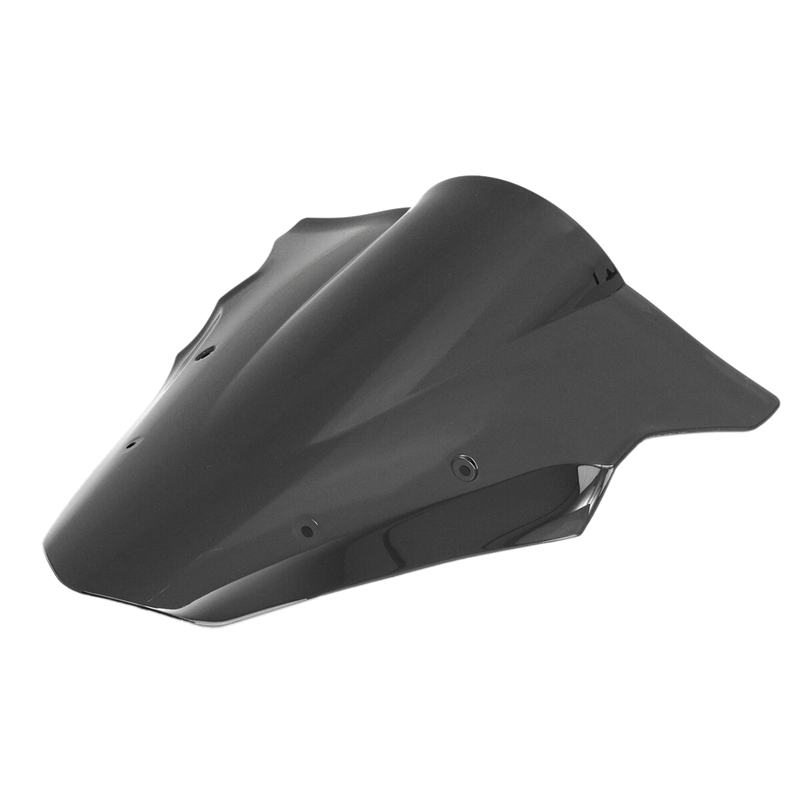 Black Motorcycle Windshield Windscreen for 12-16 Kawasaki Ninja 650 Er6F Ex650F