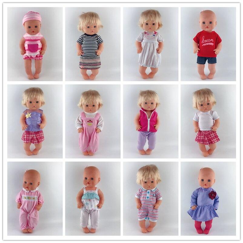 Hot 15style Doll Clothes Fit For 42cm Nenuco Doll Nenuco Su Hermanita Doll Accessories