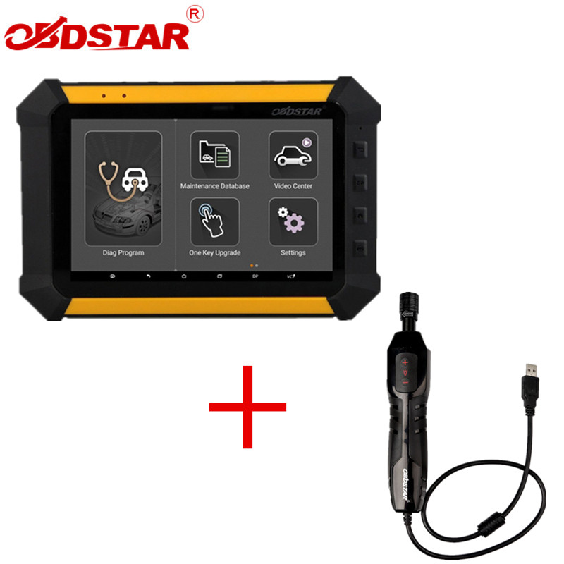 где купить OBDSTAR X300 DP X-300DP PAD Tablet Key Programmer Full Configuration Plus OBDSTAR ET-108 ET108 USB Inspection Camera по лучшей цене