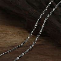 New 2014 Vintage Necklace 100 Real Pure 925 Sterling Silver Necklace Women Silver 925 Women Spring