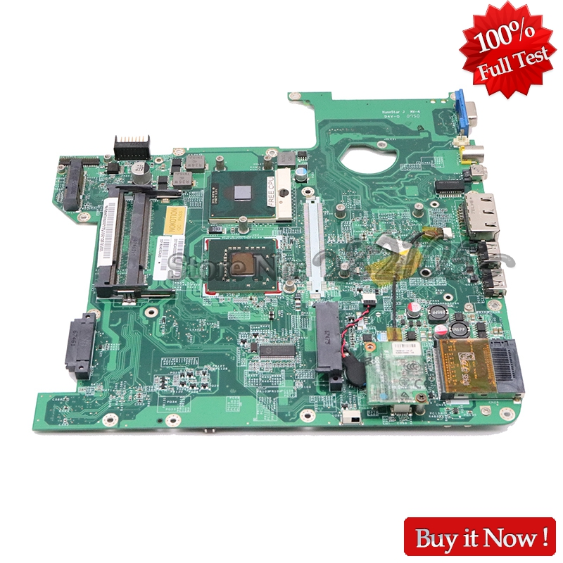 NOKOTION MBAKD06001 MB.AKD06.001 DA0Z01MB6F1 For Acer Aspire 4720 4720g Laptop Motherboard 965GM DDR2 Without Graphics Slot