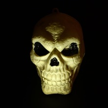 Skeleton Skull Head Halloween Party Decoration House Bar Haunted Horror Props Halloween Party Decoration