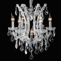 Crystal Chandelier Russia LED Dining Room Light Lustres De Cristal 7 Lamp Chandelier Modern Home Lighting