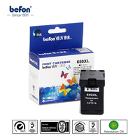 For HP650XL HP 650 HP650 650XL XL Black Ink Cartridge For HP Deskjet 1015 1515 2515