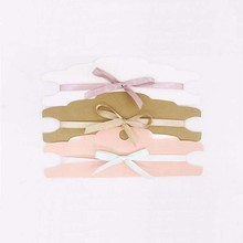100pcs New Kraft  Hair Clip band/Pink/Kraft/White Band Card Jewelry Display If Custom Logo Will Cost Extra