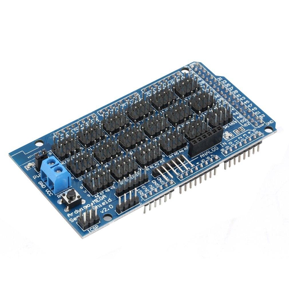 MEGA Sensor Module Shield V1.0 For Arduino Sensor Expansion Board Interface Dedicated Extansion Blocks Electronic DIY Tool