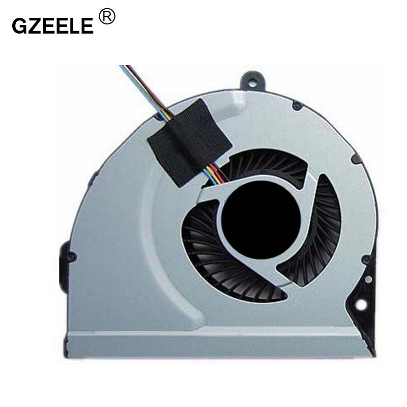 купить GZEELE laptop cpu cooling fan for ASUS K53E K53S K53SC K53SD K53SJ K53SK K53SM K53SV K84 A43S K43 Notebook Cooler Radiator new по цене 293.75 рублей