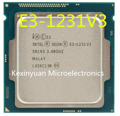 Intel Xeon Processor E3-1231 V3 E3 1231 V3 Quad-Core Processor LGA1150 Desktop CPU 100% working properly Desktop Proces