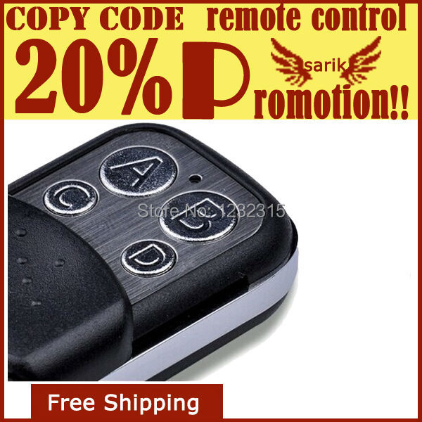 new promotional 433 92 duplicator wireless RF remote control