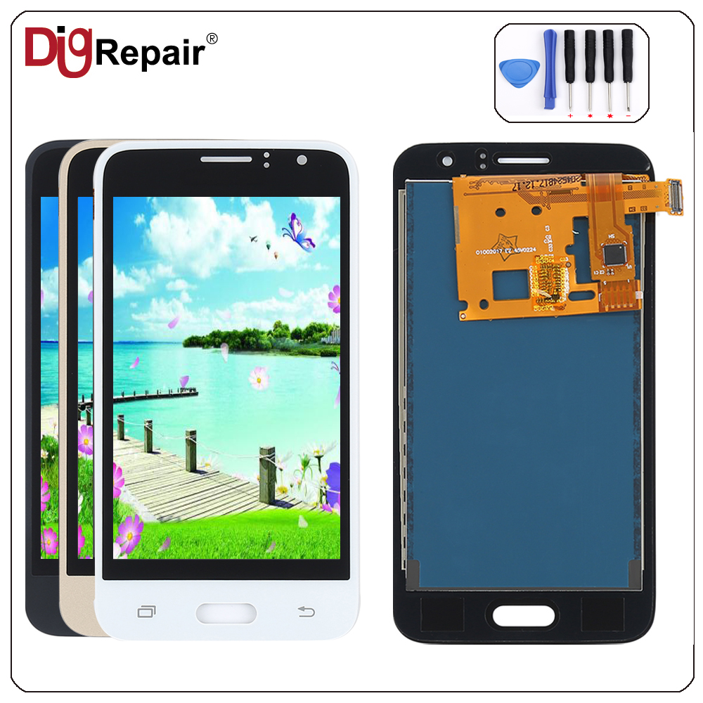 For Samsung Galaxy J1 J120f J120ds J120g J120m J120h J120 Lcd 2016 8gb White Display Touch Screen Digitizer