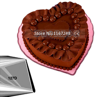 127D 180 Large Size Petal Tips Icing Nozzle Cake Decorating Tips Stainless Steel Writing Tube