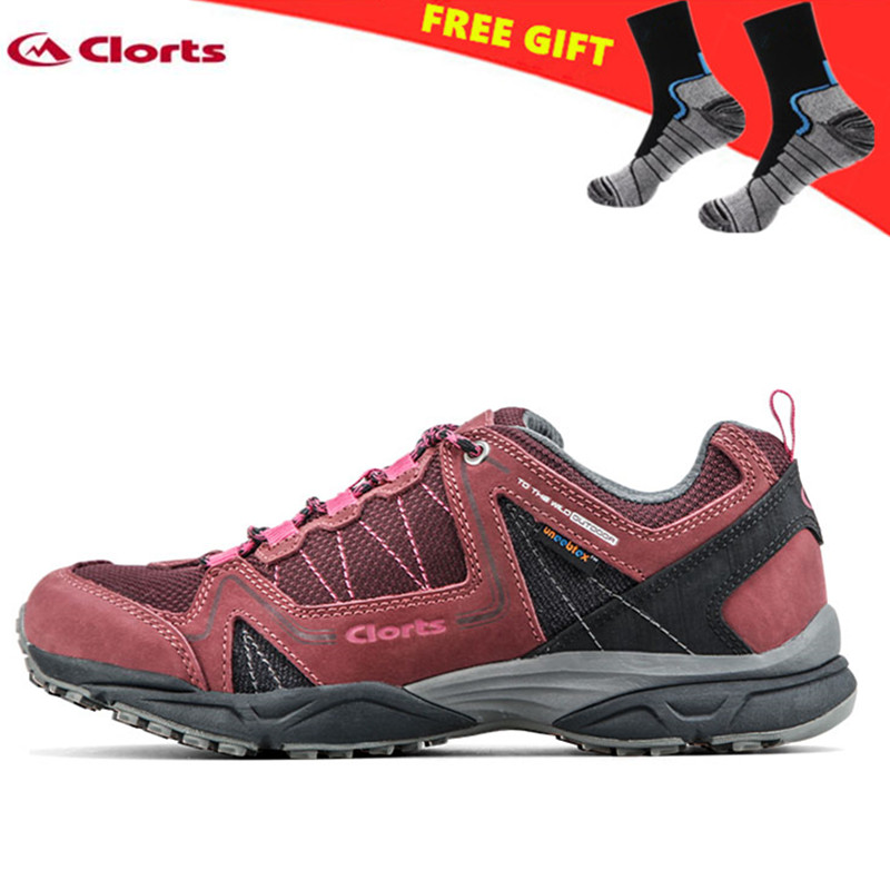 Clorts Hiking Shoes Woman 2018 Waterproof Cow Suede Hiking Boots zapatillas deportivas mujer Mountains Shoes for Women 6270726