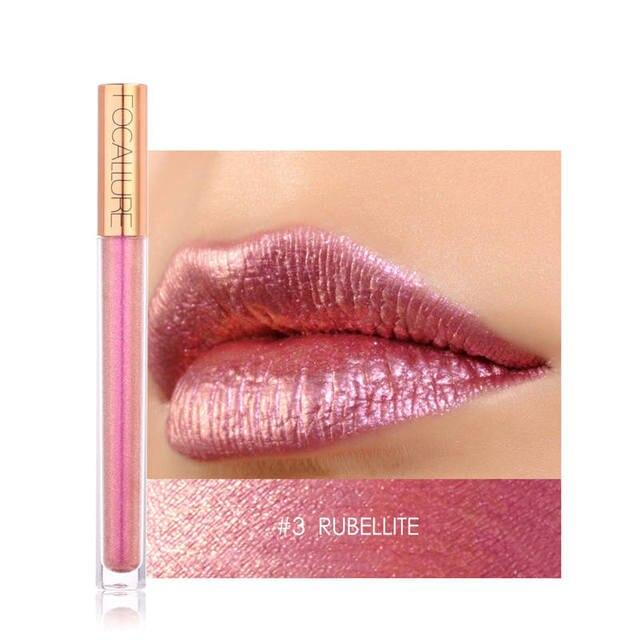 купить косметика и макияж Focallure 12 Colors Metal Shimmer Lips