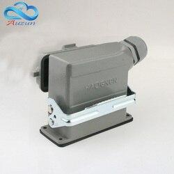 16 core H16B-ER-016-1 schwere anschlüsse mit abdeckung seite stand-up 16 a500v schraubfüße