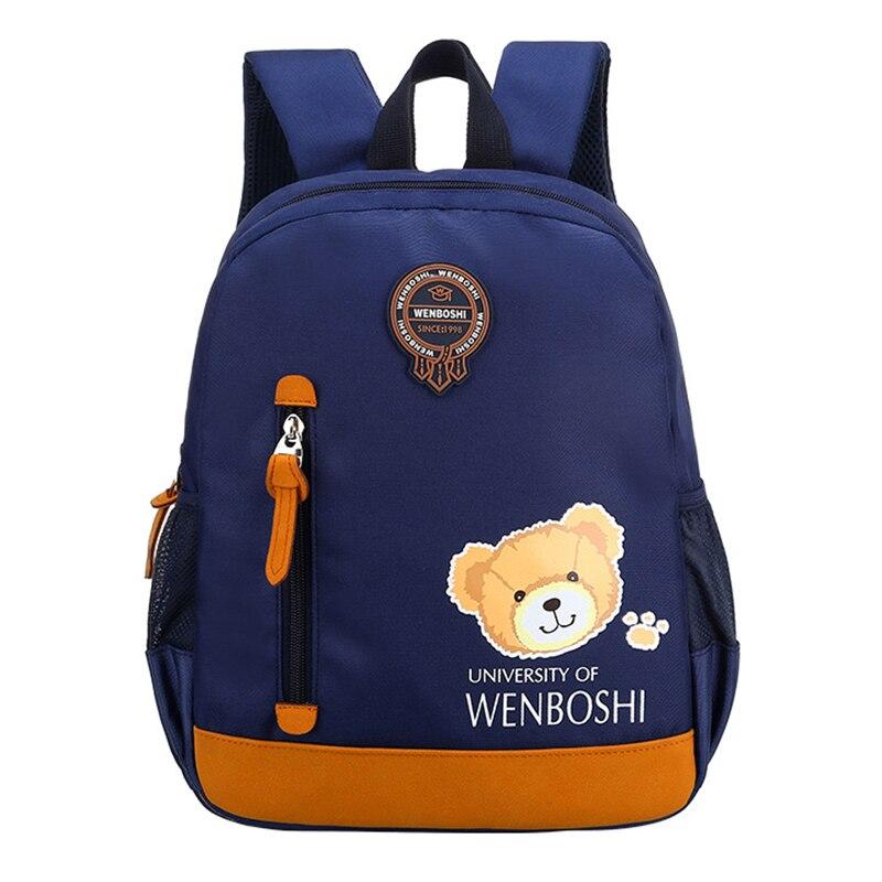 Creative Cartoon Bear Plane Toddler Backpack Anti-lost Kindergarten Backpacks School Bag For Baby Boys Girls Nursery Backpack