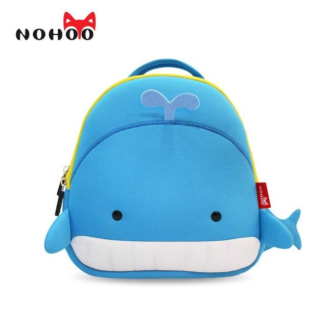 NOHOO Children School Bags Waterproof Cartoon Animals School Backpacks for Kids Large Capacity Backpacks for Children