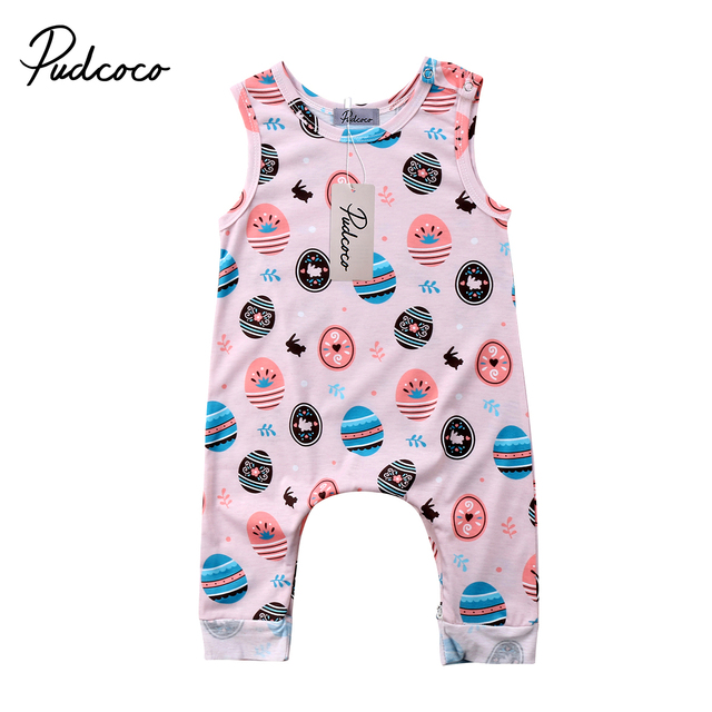 Pudcoco kids easter gift newborn baby boy girls romper playsuit one pudcoco kids easter gift newborn baby boy girls romper playsuit one pieces outfits sunsuit clothes negle Images