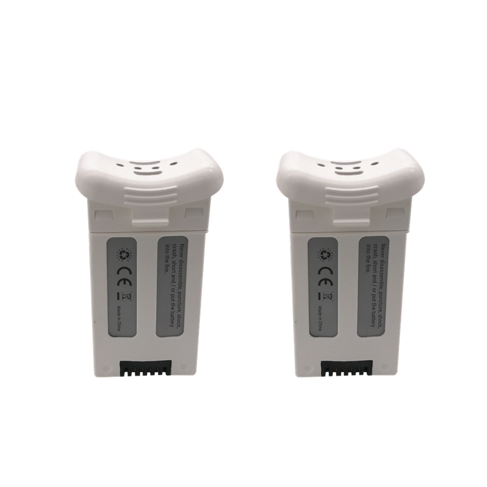 2PCS 3.7V 1000mAh Li-ion Battery for SJRC S20W T25 Four-axis Drone Spare Parts Remote Control Aircraft 903048 3.7Wh Battery