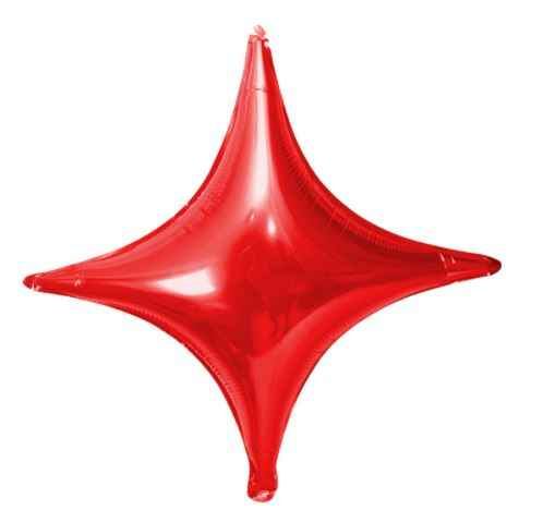 1 pcs 10 polegadas Quatro-pontas Estrela Balão de alumínio Decoração de Balões De Aniversário de Casamento Fontes Do Partido de Alumínio Bola Inflável Do Ar