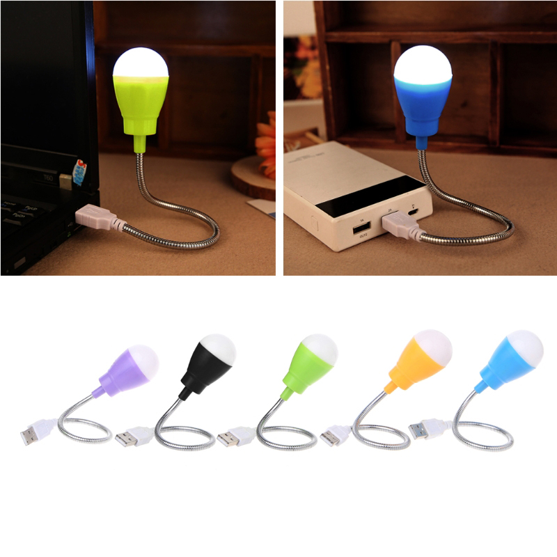 New Protable Mini USB LED Light 360 Degree Flexible Lamp for Laptop gaming hot