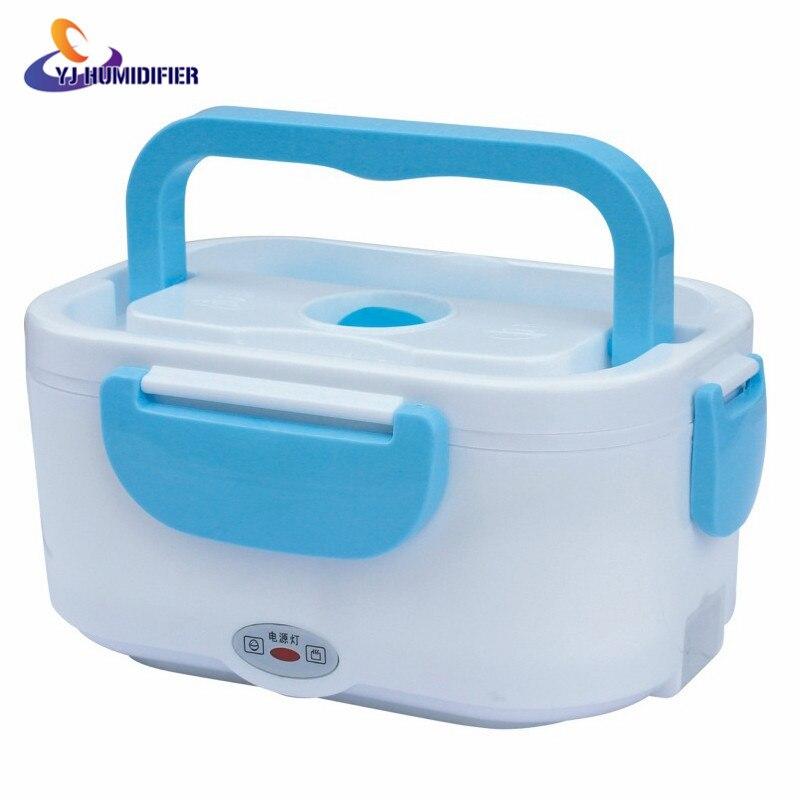 Electric food heating lunch box font b Car b font 12V 110V 220V Electric Heating Lunch