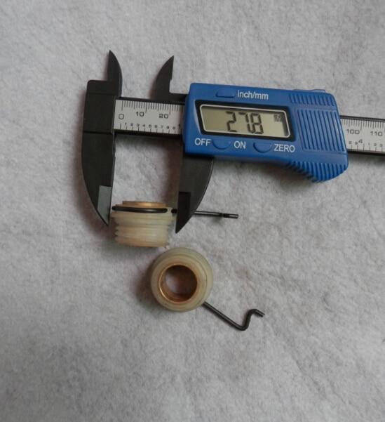 Accionamiento de la bomba de aceite ajusta STIHL 029 039 MS 290 MS 390 gusano