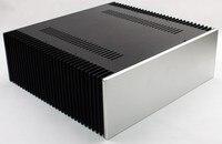 Wa68 chassi amplificador de alumínio completo/fase pura/classe a amplificador/amp gabinete/caso/caixa diy (430*150*412mm)|amp enclosure|aluminum amplifier chassis|amplifier chassis -