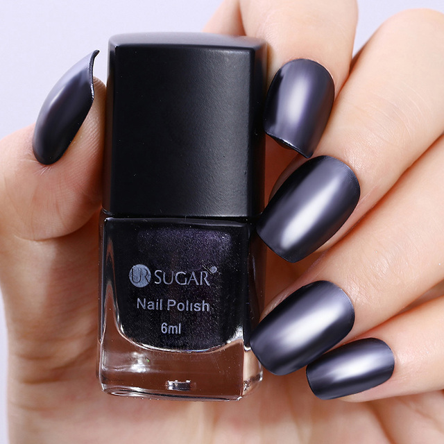 Ur azúcar efecto espejo Esmaltes laca de uñas metálica rojo azul ...