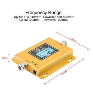 Image 3 - CDMA Repeater 850 MHz 70dB LCD 2G 3G 850 MHz UMTS GSM CDMA โทรศัพท์มือถือสัญญาณ Repeater Booster โทรศัพท์มือถือสัญญาณ CDMA