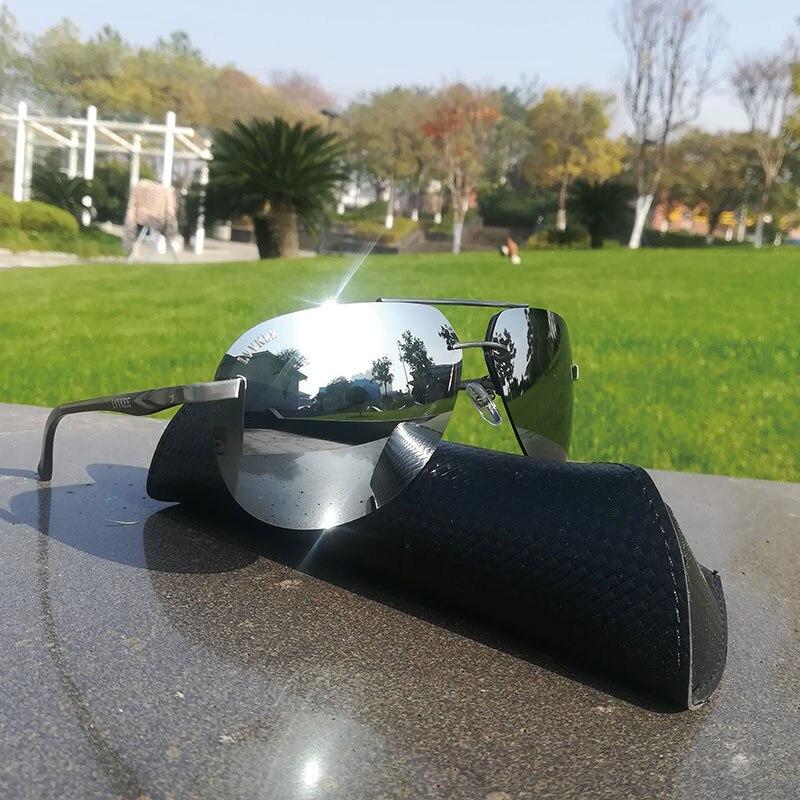 Sonnenbrillen 2019 Lvvkee Luxus Marken Top Marke Design Männer Polarisierte Sonnenbrille Fahren Sonnenbrille Uv400 Original Verpackung Glasse Uv400 GroßE Vielfalt