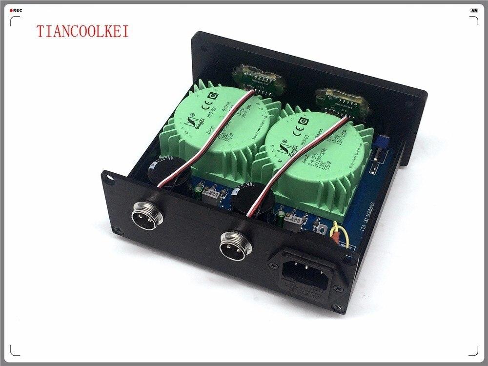 DAC X6 30W Dual External Linear Power Supply DC 5V 9V 12V 15V 24V for Headphone 6J1 tube preamplifier XMOS DAC 110V & 220V - 3