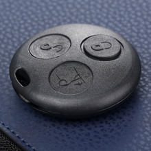3 Button Auto Key Shell Case Replacement Fob For Mercedes Benz SMART Fortwo City Coupe Cabrio Crossblade Roadster