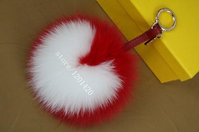 Новый 15 см большой размер меха фокс сумочка подвески милые пушистые сумку очарование bagbug монстр роскошные пушистые тотализатор шарм мода подарок на день рождения