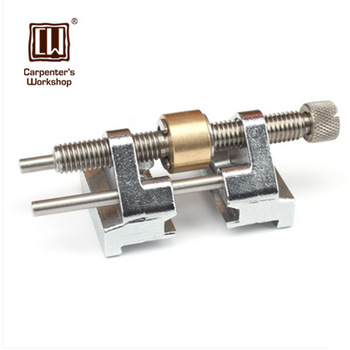 Afilador de cincel de acero inoxidable de ángulo de carpintería con un casquillo de acero de respaldo (anillo)