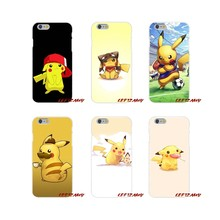 Para Samsung Galaxy S3 S4 S5 MINI S6 S7 borde S8 S9 Plus nota 2 3 4 5 8 Pokemons pika ir PokeBall Animal TPU transparente cubierta de la bolsa(China)