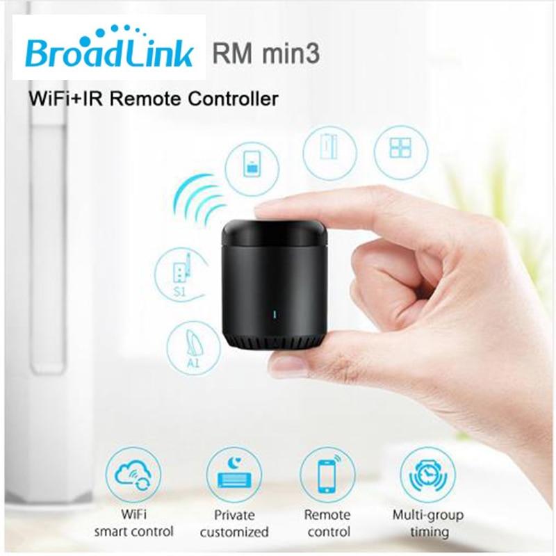 Broadlink RM PRO 2019 RM Mini3 SC1 Smart Home Automation WiFi+IR+RF Smart House Switch Universal Intelligent Remote Controller 6