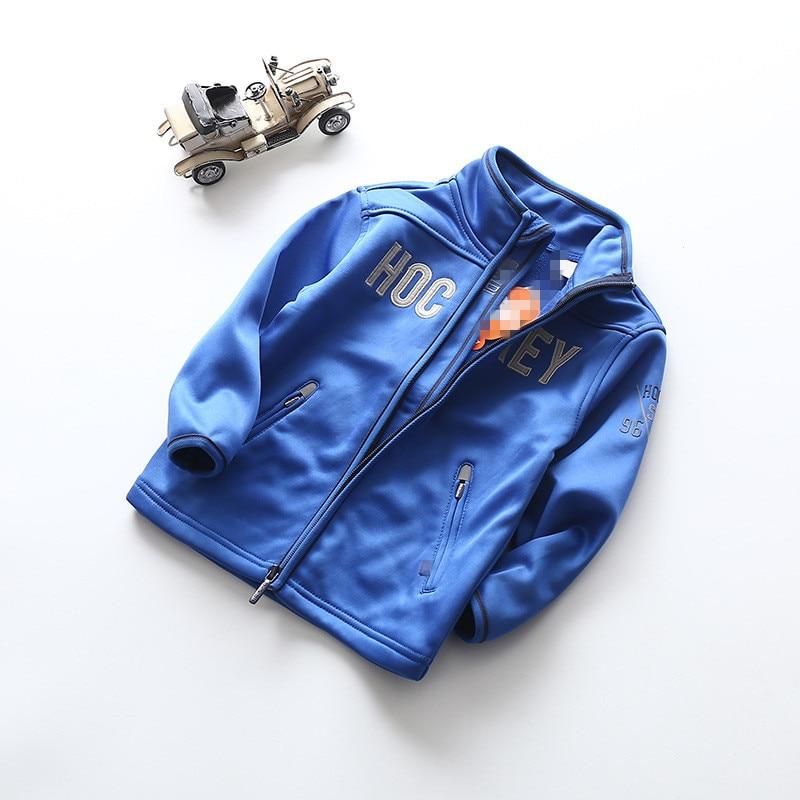 Der neue Kinder Sport Hemdkragen Jacke Reißverschluss Freizeit - Kinderkleidung - Foto 1