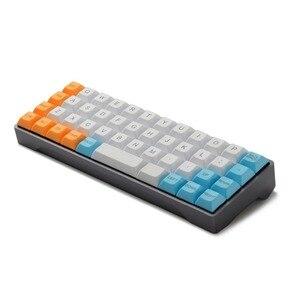 Image 3 - YMDK 40% YMD40 Kit de bricolage AMJ40 PCB CNC plaque de boîtier pour 40% Mini clavier mécanique mignon livraison gratuite