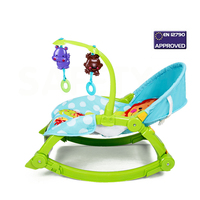 Multifunction Baby Couch, Infant Deck Chair, Baby Cradle Chair, Electric Rocking Chair, Lovely Cartoon Children Bouncer