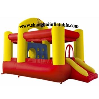 W chinach nowy projektowania dla dzieci w celach komercyjnych kryty plac zabaw dla dzieci na sprzedaż nadmuchiwane bounce dom i slajdów kombi tanie i dobre opinie Plac zabaw na świeżym powietrzu XZ-BH-028 NoEnName_Null 3 lat Duża trampolina Nadmuchiwany plac zabaw dla dzieci L5*W4*H4M
