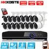 1080P HDMI DVR 2500TVL 960P HD Outdoor Home Security Camera System 16CH AHD 1080P CCTV Video