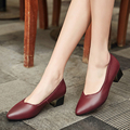 2017 spring and summer new  genuine leather women's shoes with fashion diamond tip work shoes women in the shallow mouth