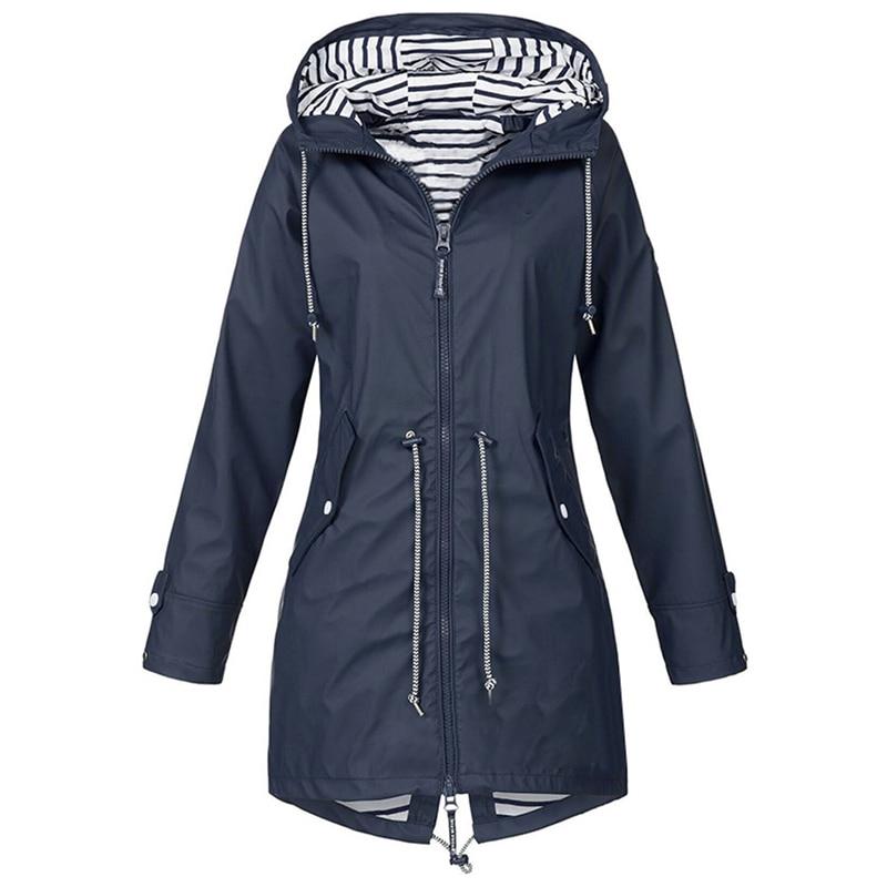 HTB19maoXFT7gK0jSZFpq6yTkpXaB LASPERAL 2019 Women Jacket Coat Waterproof  Transition Jacket Outdoor Hiking Clothes Lightweight Raincoat Women's Raincoat