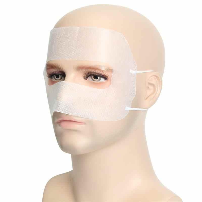 Máscara protectora blanca desechable de 100 piezas para gafas de realidad Virtual Rift VR para PlayStation 3D